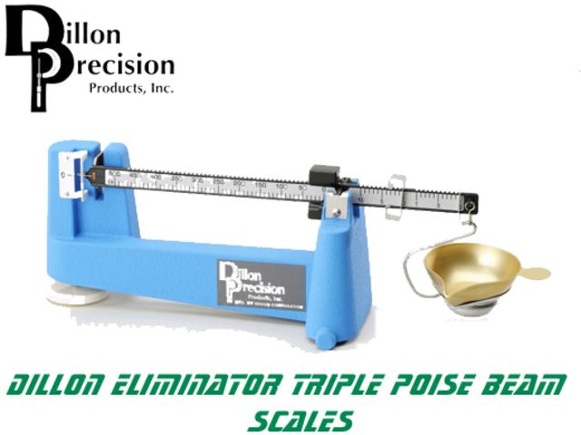 For Sale - Dillon Precision Eliminator Triple Poise Beam Reloading