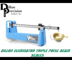 Dillon Precision Eliminator Triple Poise Beam Reloading Scale