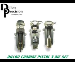 Dillon Precision Pistol Carbide 3 Reloading Die Set