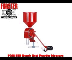 Forster Bench Rest Powder Measure