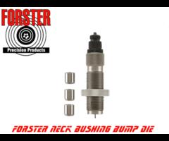 Forster Bushing Bump Neck Reloading Die Kit With 3 Bushings