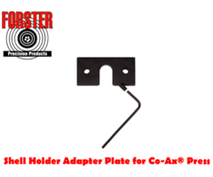 Forster Shellholder Adapter Plate for use with Co Ax Press