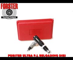 Forster Ultra Reloading Die Set with Full Length Micrometer Seater