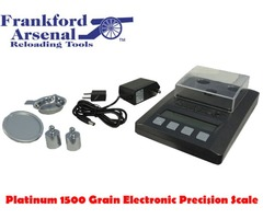 Frankford Arsenal Platinum 1500 Grain Electronic Precision Reloading Scale with Carry Case