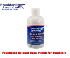 Frankford Arsenal Quick-N-EZ Brass Polish for Vibratory Case Tumblers