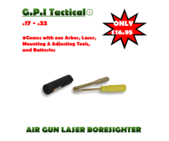 G.P.I Tactical .22 Laser Boresighter Set