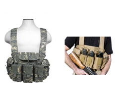 G.P.I Tactical AK Chest Rig Assault Vest For Airsoft