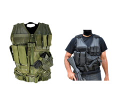 G.P.I Tactical Cross Draw Vest For Airsoft and Paintball