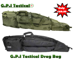G.P.I Tactical Drag Bag Gun Case