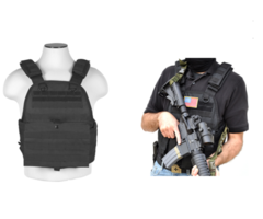 G.P.I Tactical Plate Carrier Vest For Airsoft