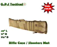 G.P.I Tactical Rifle Case / Shooting Mat