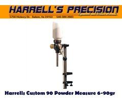 Harrells Custom 90 Reloading Powder Measure / Powder Thrower 6-90gr Capacity