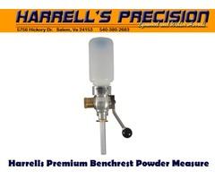 Harrells Premium Benchrest Reloading Powder Measure / Powder Thrower 60gr Capacity