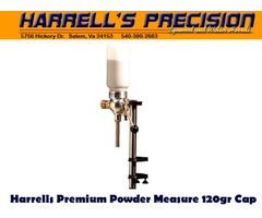 Harrells Premium Reloading Powder Measure / Powder Thrower 120gr Capacity