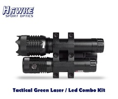 Hawke Tactical Green Laser / Led Combo Kit – HK3509