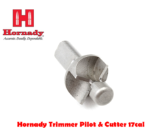 Hornady Trimmer Deluxe Pilot & Cutter for 17cal