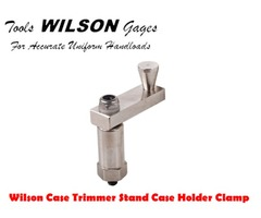 L.E.Wilson Case Trimmer Reloading Stand Case Clamp