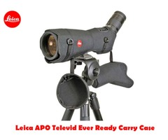 Leica Ever Ready Case For Apo Televid Spotting Scope with Cordura Shoulder Strap