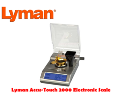 Lyman Accu Touch 2000 Electronic Touch Compact Reloading Scales