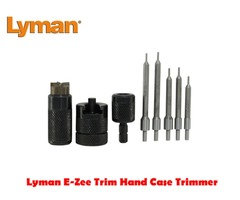 Lyman E-Zee Trim Hand Case Trimmer Rifle or Pistol