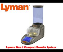 Lyman Gen 6 Touch Screen Compact Powder Measure Dispenser System