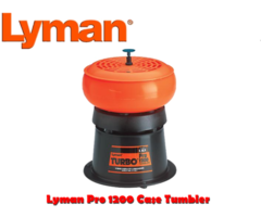 Lyman Pro 1200 Case Tumbler ONLY £94.95 220v