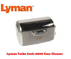 Lyman Turbo Sonic 6000 Case Cleaner – 220 Volt