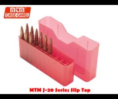 MTM Case Gard J-20 Slip top Ammo Box Series