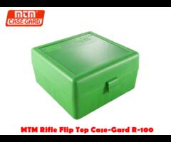 MTM Rifle Flip Top Case-Gard R-100 RD Ammo Box
