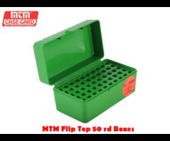 MTM Rifle Flip Top Case-Gard R-50 RD Ammo Box