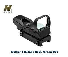 NcStar 4 Reticle Weaver Mount Red / Green Dot Reflex Sight – D4RGB