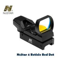 NcStar 4 Reticle Weaver Mount Red Dot Reflex Sight – D4B
