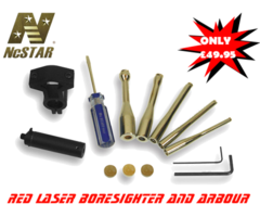 Ncstar Red Laser Boresighter and Arbour Kit TLZ