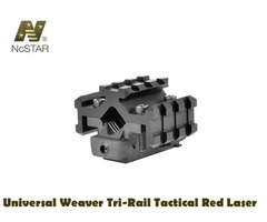 NcStar Universal Weaver Tri-Rail Tactical Red Laser – ATRLS