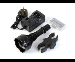 Nightmaster XSearcher Torch & Hunting Long Range IR Gun Light Kit
