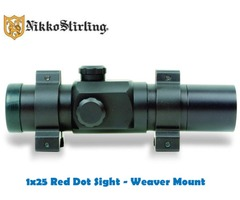 Nikko Stirling 25mm Red Dot with Weaver Mount