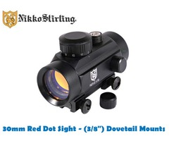 Nikko Stirling 30mm Integrated Red Dot 3/8 Dovetail Mount