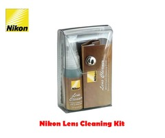 Nikon Lens Cleaner Kit with Spray & Cloths