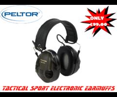 Peltor Tactical Sport Electronic Earmuffs