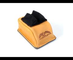 Protektor #14BC Custom Leather & Cordura Bunny Ear Rear Bag w/ Hard Bottom