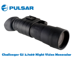 Pulsar Challenger GS 2.7×50 Night Vision Monocular