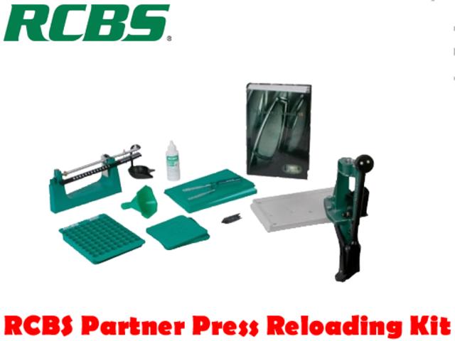 For Sale - RCBS Partner Press Reloading Kit - Gungle ( www