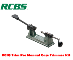 RCBS Reloading Trim Pro 2 Manual Case Trimmer Kit