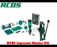 RCBS Rock Chucker Supreme Master Reloader Reloading Press Kit