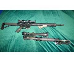 JP Enterprises and Southern gun JP NC 22, SGC 223 .22 Long Rifle and .223