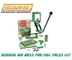 Redding Big Boss Pro Pak Reloading Press Kit