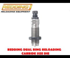 Redding Dual Ring Reloading Carbide Size Pistol Reloading Die