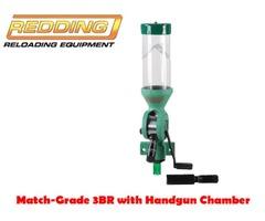 Redding Reloading Match-Grade 3BR with Pistol Chamber Powder Measure / Powder Thrower