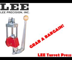 Reloading Press – Lee Turret 4 Hole Reloading Press