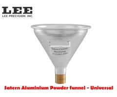 Satern Universal Aluminium Static Free Powder Funnel
